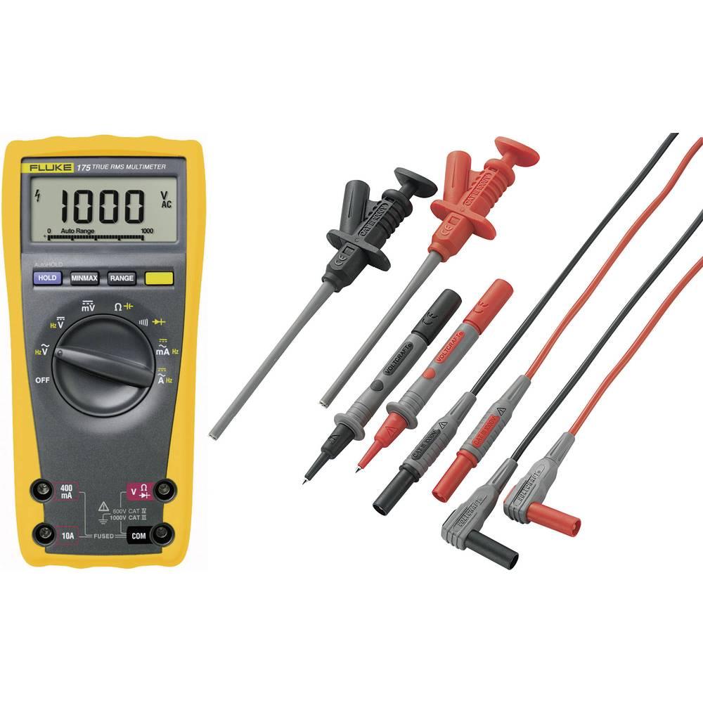 Ročni multimeter, digitalni Fluke 175 + MS-6 kalibracija narejena po: delovnih standardih, CAT III 1000 V, CAT IV 600 V število