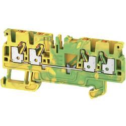 Spojka za zaštitni vodič A4C 2.5 PE 1521540000 zeleno-žute boje Weidmüller 50 kom.