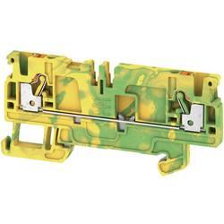 Spojka za zaštitni vodič A2C 2.5 PE /DT/FS 1989890000 zeleno-žute boje Weidmüller 50 kom.
