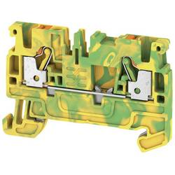 Spojka za zaštitni vodič A2C 2.5 PE 1521680000 zeleno-žute boje Weidmüller 50 kom.