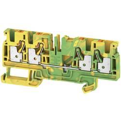 Spojka za zaštitni vodič A4C 4 PE 2051560000 zeleno-žute boje Weidmüller 50 kom.