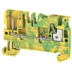 Prolazna stezaljka APGTB 2.5 PE 2C/1 1513870000 zeleno-žute boje Weidmüller 50 kom.