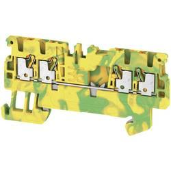 Spojka za zaštitni vodič A4C 1.5 PE 1552660000 zeleno-žute boje Weidmüller 50 kom.