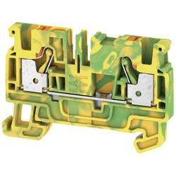 Spojka za zaštitni vodič A2C 4 PE 2051360000 zeleno-žute boje Weidmüller 50 kom.