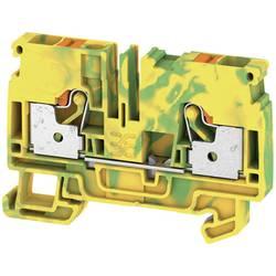 Spojka za zaštitni vodič A2C 6 PE 1991810000 zeleno-žute boje Weidmüller 50 kom.
