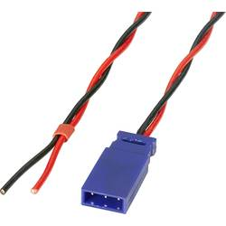 Batteri Kabel för mottagare deluxe [1x Futaba-kontakt - 1x Öppen ände] 300 mm 0.50 mm² tvinnad Reely