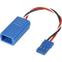 Servo Y-kabel Deluxe [2x JR-kontakt - 1x JR-hylsa] 100 mm 0.5 mm² Reely