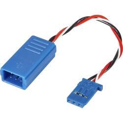 Servo Y-kabel Deluxe [2x Futaba-kontakt - 1x Futaba-hylsa] 100 mm 0.5 mm² Reely