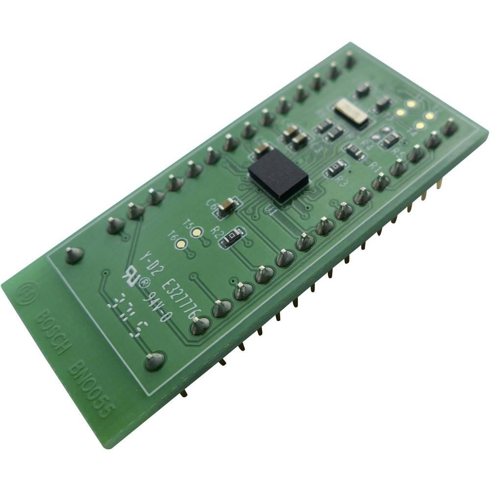 Senzor orientacije-modul Bosch BNO055 Shuttle Board UART, IC letev z moškimi kontakti