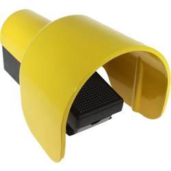 Fodkontakt Axxatronic CFSHC1-CON 1 pedal 1 Schließer (value.1345270), 1 Öffner (value.1345269) IP65 250 V/AC 6 A 1 stk