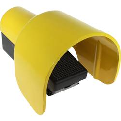 Fodkontakt Axxatronic CFSHC1C2-CON 1 pedal 1 Schließer (value.1345270), 1 Öffner (value.1345269) IP65 250 V/AC 6 A 1 stk