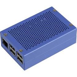 Raspberry Pi® Hölje Joy-it RPI-Case-ALU-BLUE Blå