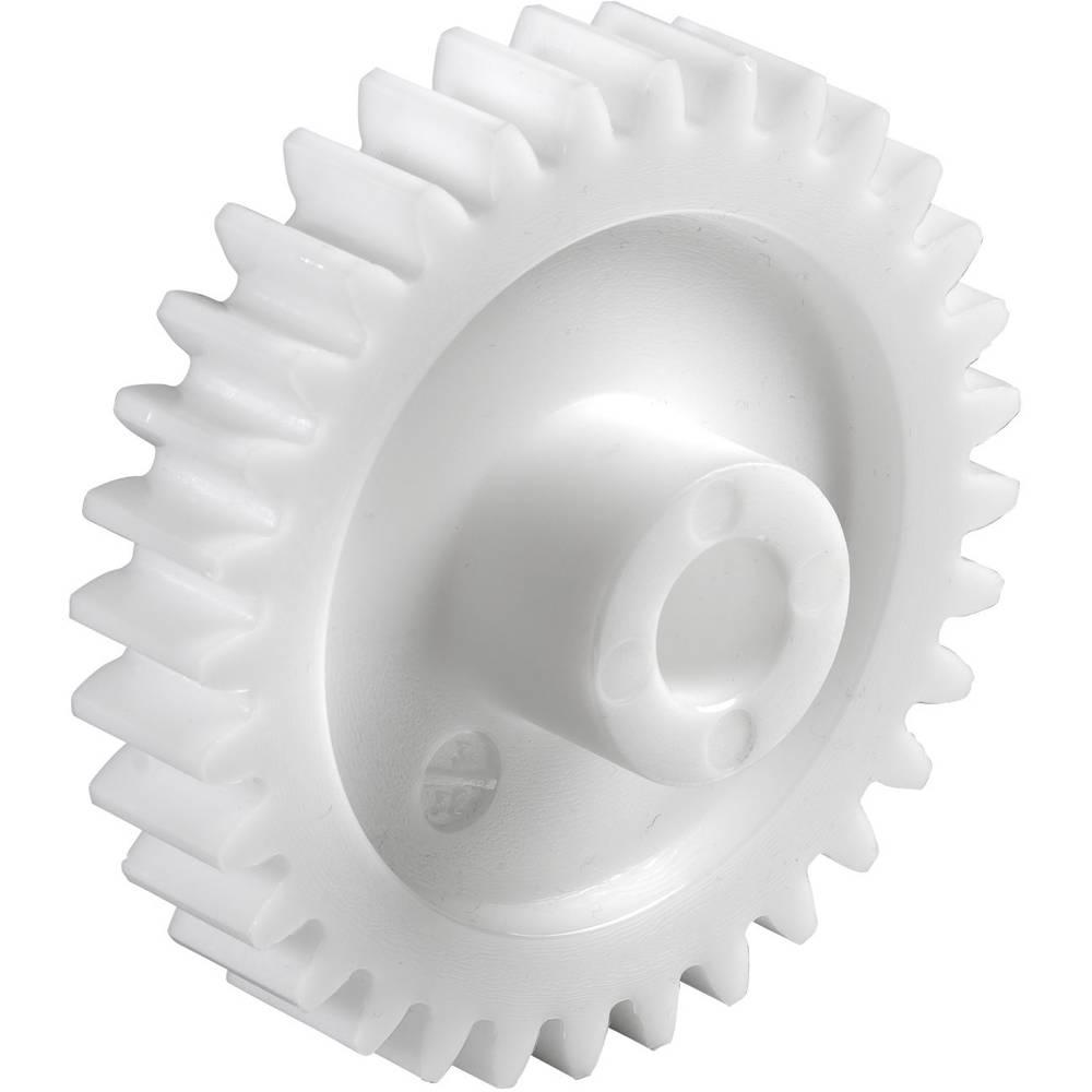 Poliacetal Čelni zobnik Reely Vrsta modula: 1.0 Premer vrtanja: 8 mm Število zob: 40