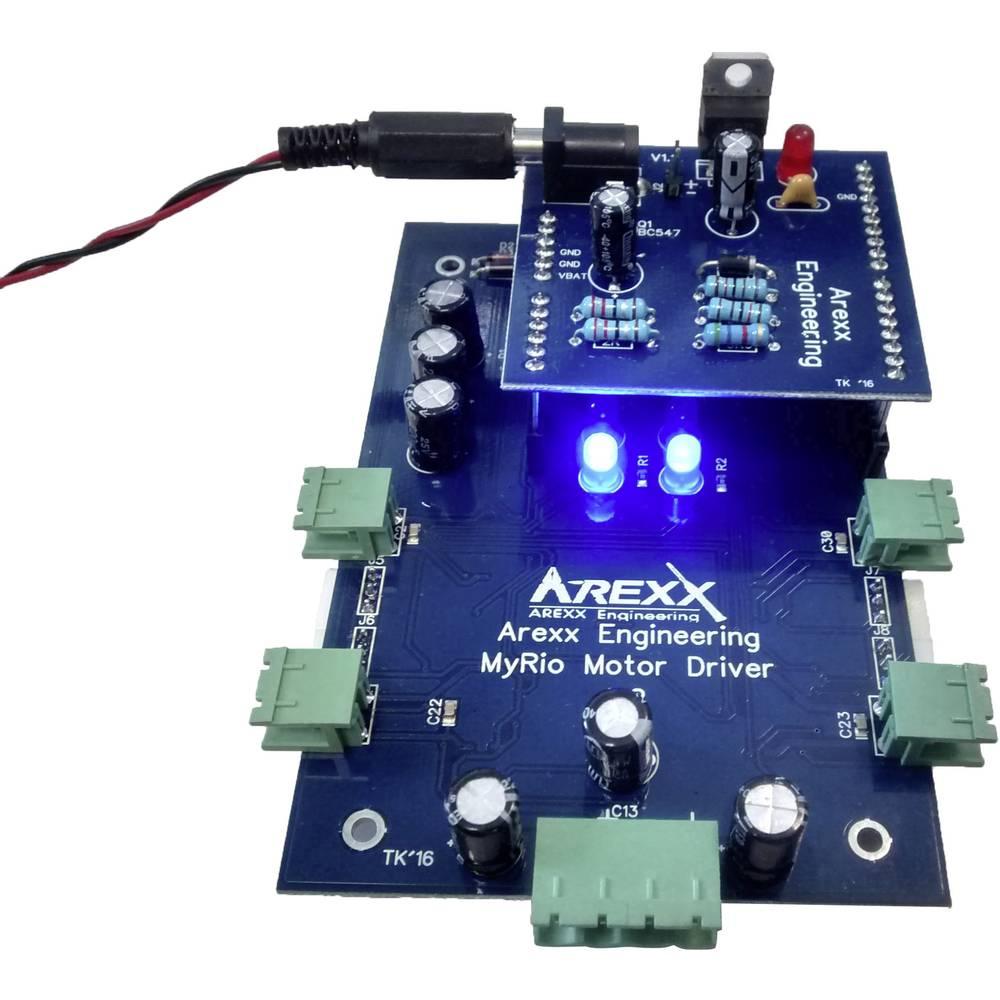 4-kanalni upravljač motora za Labview MyRio Arexx, modul za nadogradnju
