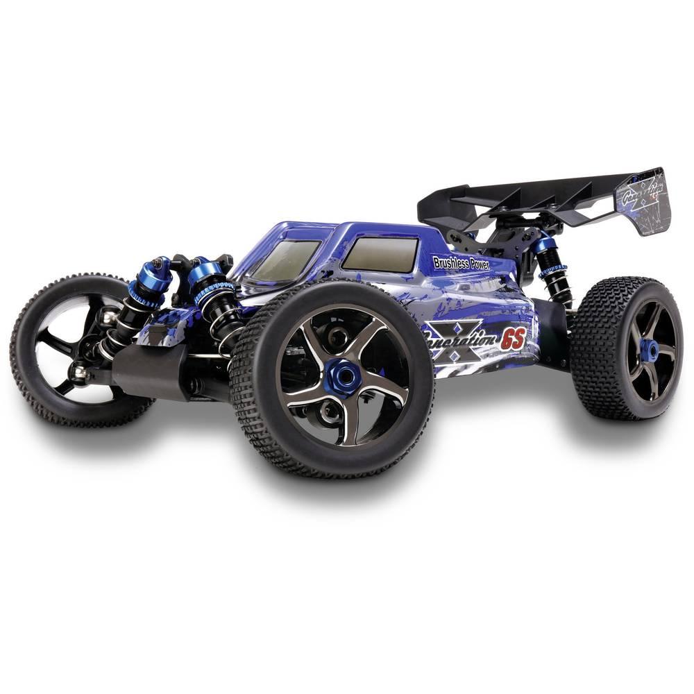 Reely Generation X 6S Brushless 1:8 RC model avtomobila na električni pogon, Buggy pogon na vsa kolesa RtR 2,4 GHz