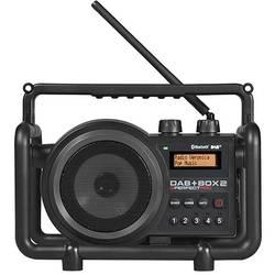 DAB+ Baustellenradio PerfectPro DAB+ Box 2 Sort