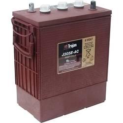 Trojan J305E-AC, BCI 902 svinčeni akumulator 6 V 305 Ah svinčevo-kislinski (Š x V x G) 312 x 366 x 174 mm m8-vijačni priklop obs