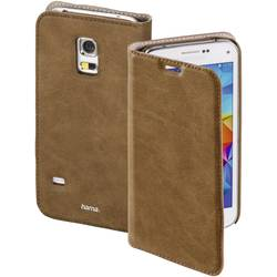 Booklet Hama Guard Case Passar till modell: Samsung Galaxy S5 Mini Brun