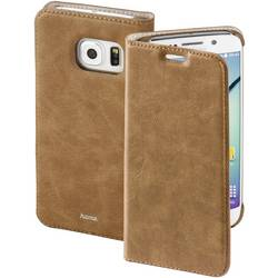 Booklet Hama Guard Case Passar till modell: Samsung Galaxy S6 Edge Brun