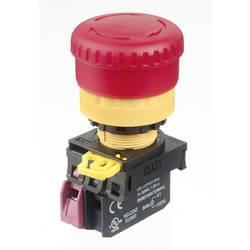 APEM A02ESI4B101IR2 Prekidač za isključivanje u nuždi osvjetljen 240 V/AC 3 A 1 otvarač IP65 (sprijeda) 1 ST