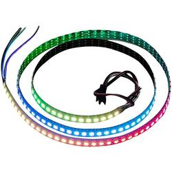 Expansionskort Adafruit NeoPixel Digital RGB LED Strip 144 LED BLACK Adafruit 1506
