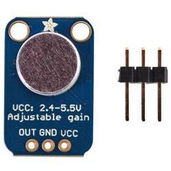 Expansionskort Electret Microphone Amplifier - MAX4466 Adafruit 1063
