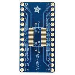 Kretskort (naket) SMT Breakout PCB for SOIC-28 or TSSOP-28 Adafruit 1208