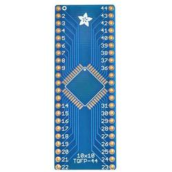 Kretskort (naket) SMT Breakout PCB for 44-QFN or 44-TQFP Adafruit 1162
