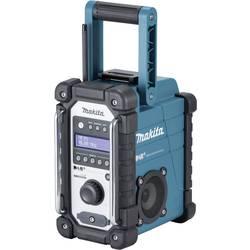 DAB+ robusten radio Makita DMR110 DAB+, UKW, AUX z zaščito pred škropljenjem zelene barve, črne barve