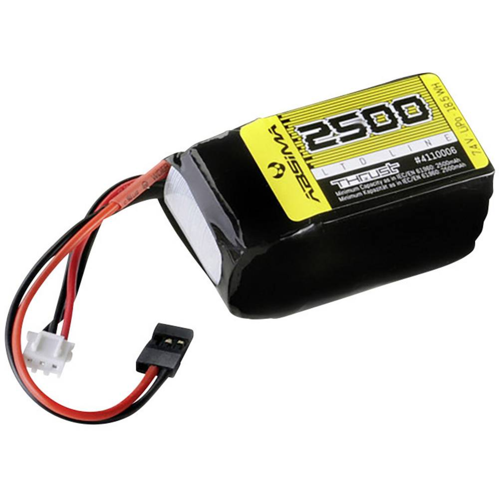 Modelarski akumulatorski komplet (LiPo) 7.4 V 2500 Absima Hump JR