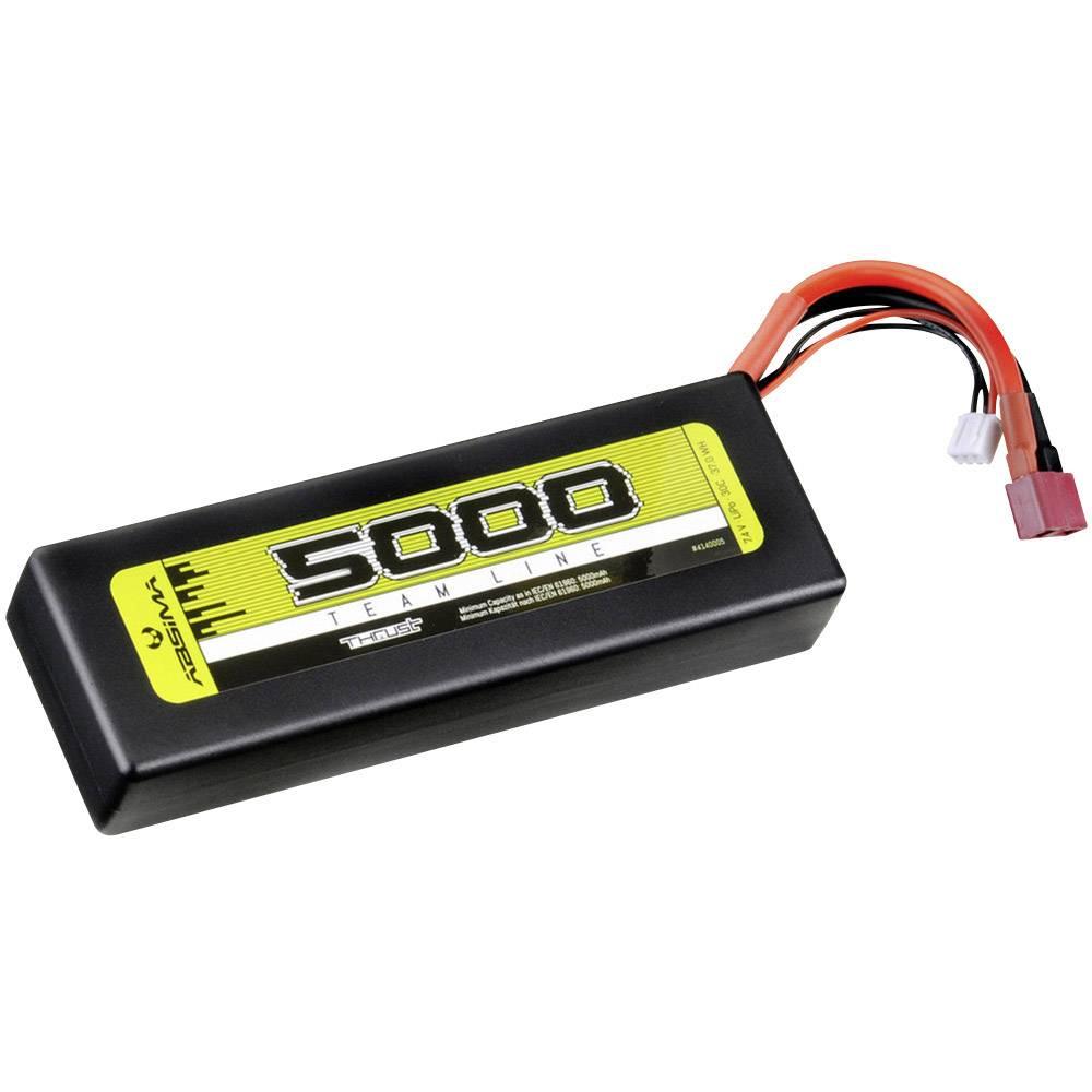 Modelarski akumulatorski komplet (LiPo) 7.4 V 5000 30 C Absima Hardcase T-vtični sistem