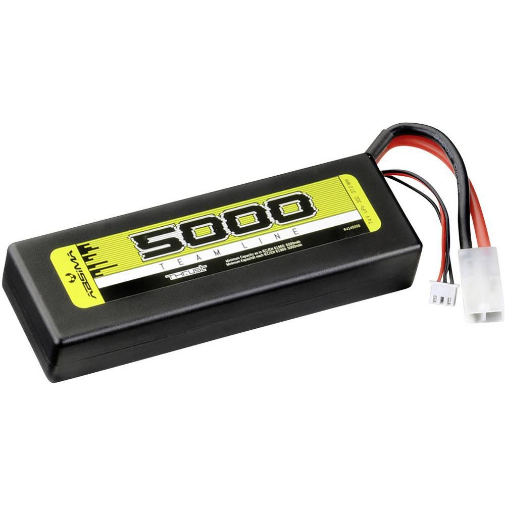 Modelarski akumulatorski komplet (LiPo) 7.4 V 5000 30 C Absima Hardcase Tamiya