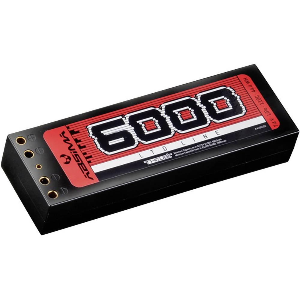 Modelarski akumulatorski komplet (LiPo) 7.4 V 6000 110 C Absima Hardcase T-vtični sistem
