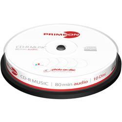 cd-r audio prazan Primeon 2761111 10 St. vreteno za tiskanje