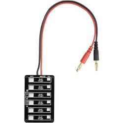 LiPo uravnalni adapter, izvedba polnilnika: banana vtič izvedba akumulatorja: Micro JST, JST-PH VOLTCRAFT