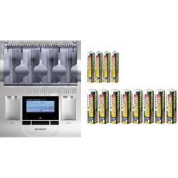 Polnilna naprava za okrogle baterije, vključno z akumulatorji VOLTCRAFT Charge Manager CM2016 Micro (AAA), Mignon (AA), Baby (C)