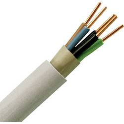 Oplašteni kabel NYM-J 5 G 2.5 mm sive boje Kopp 153225006 25 m