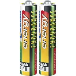 Laddbart batteri R03 (AAA) NiMH Conrad energy Endurance HR03 800 mAh 1.2 V 2 st