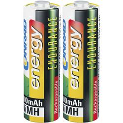 Laddbart batteri R6 (AA) NiMH Conrad energy Endurance HR06 2300 mAh 1.2 V 2 st