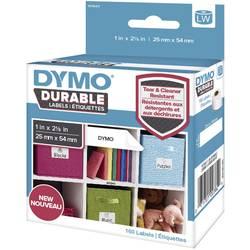 DYMO etikete (v rolah) 102 x 59 mm polipropilenska folija bele barve 50 kosov trajne 1976414 univerzalne-etikete, naslovne-etike