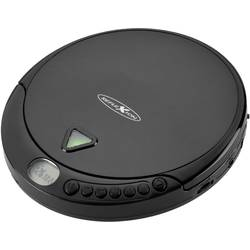 Prenosni CD-predvajalnik Reflexion CD, CD-R, CD-RW, MP3 črne barve