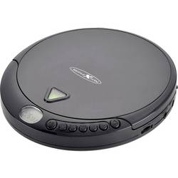 Prenosni CD-predvajalnik Reflexion PCD500MP CD, CD-R, CD-RW, MP3 črne barve