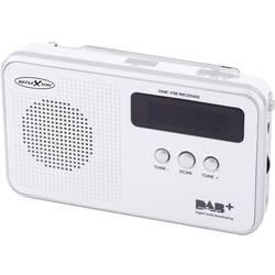 DAB+ radio v kovčku Reflexion TRA5000D+ DAB+, UKW ponovno napolnljiv bele barve