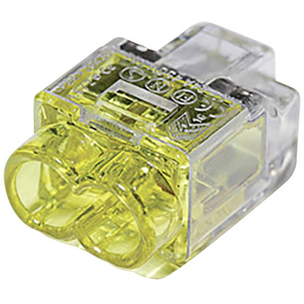 Priključni treminal fleksibilan: 1-2.5 mm krut : 0.5-2.5 mm broj polova: 2 HellermannTyton 148-90036 1 komad žute boje