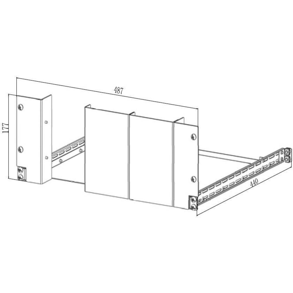 Rigol RM-1-DP700 komplet montažnega okvirja RM-1-DP700, RM-1-DP700