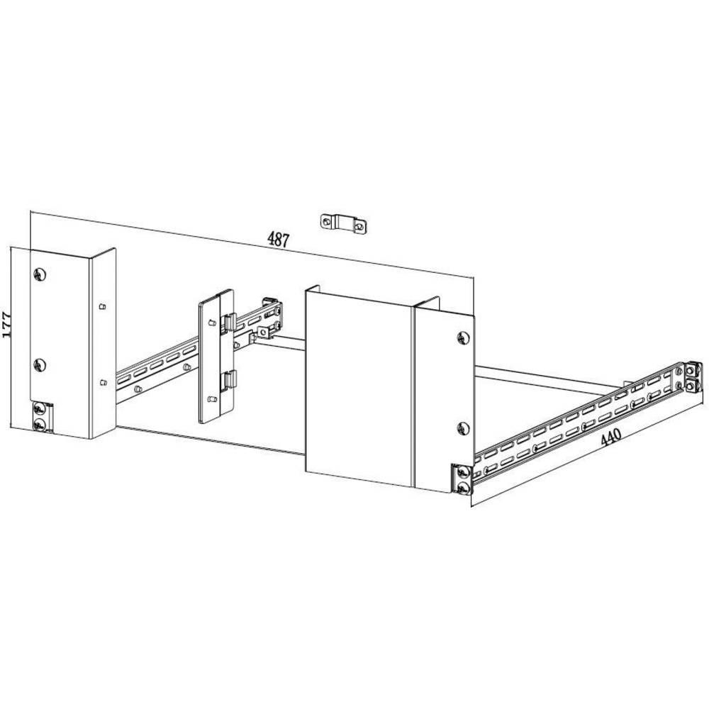 Rigol RM-2-DP700 komplet montažnega okvirja RM-2-DP700, RM-2-DP700
