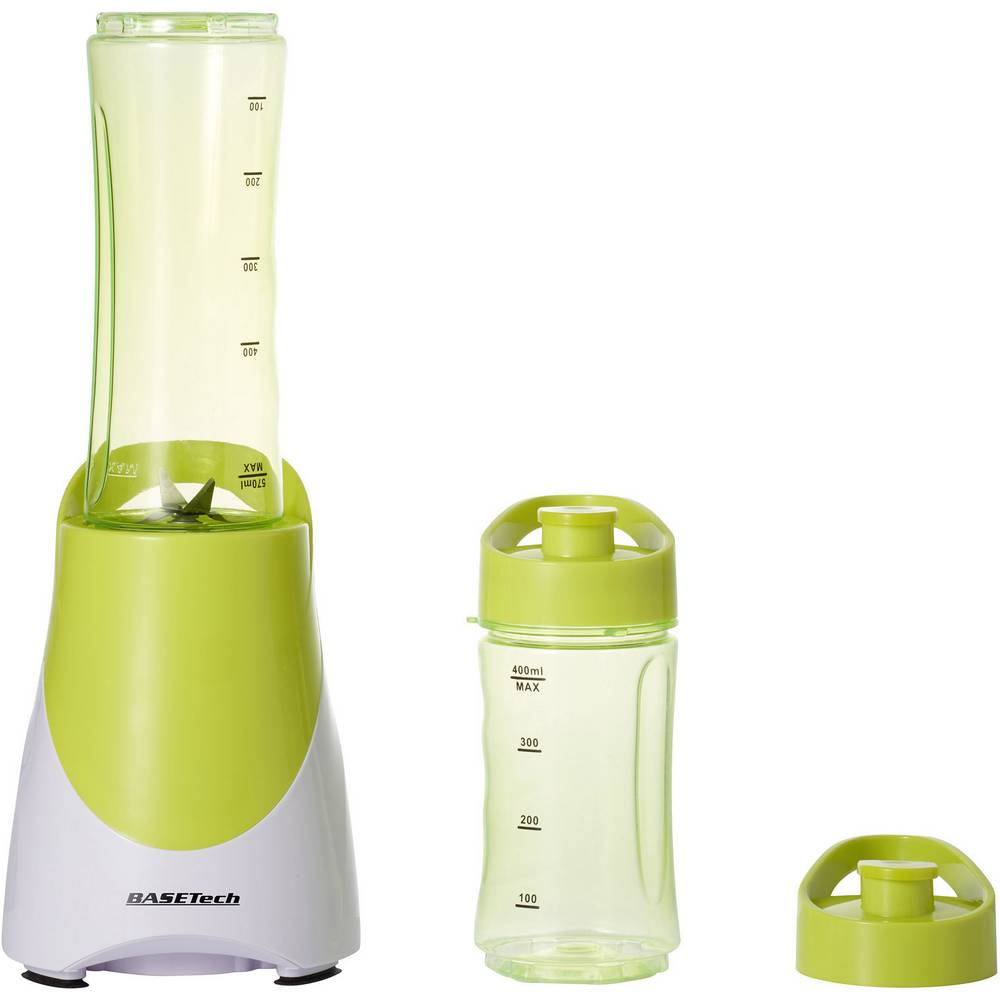 Mešalnik za smoothije Basetech BL05 300 W bele, svetlo zelene barve