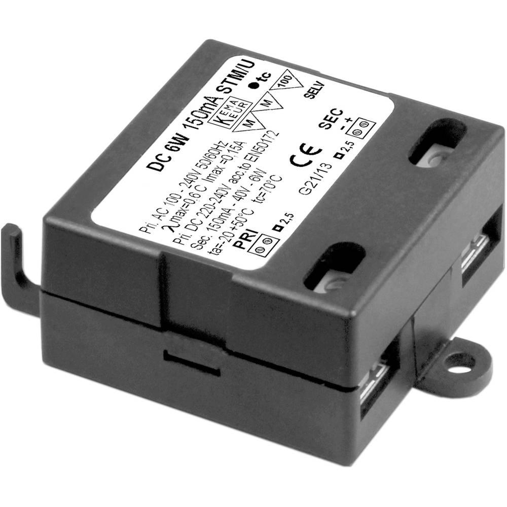 LED napajalnik s konstantnim tokom 6 W 150 mA 40 V omejevalnik toka Barthelme 66004406 delovna napetost maks.: 264 V/AC, 264 V/D