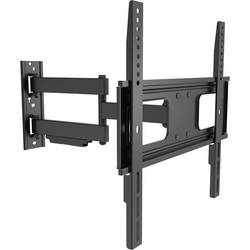 TV-vægbeslag LogiLink BP0014 81,3 cm (32) - 139,7 cm (55) Kan vippes og svinges Sort