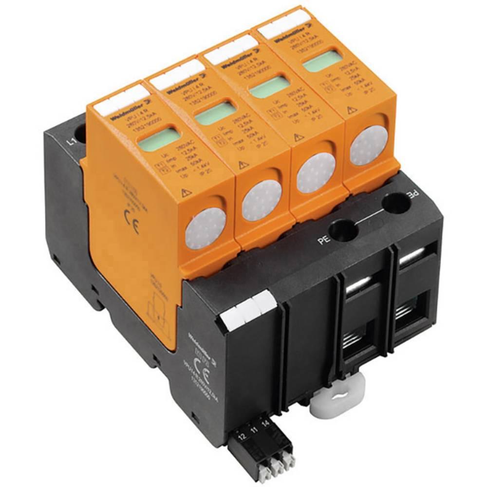 Prenapetostna zaščita za razdelilno omarico za: razdelilno omaro Weidmüller VPU II 4W+G WYE 347V R 2025140000 20 kA